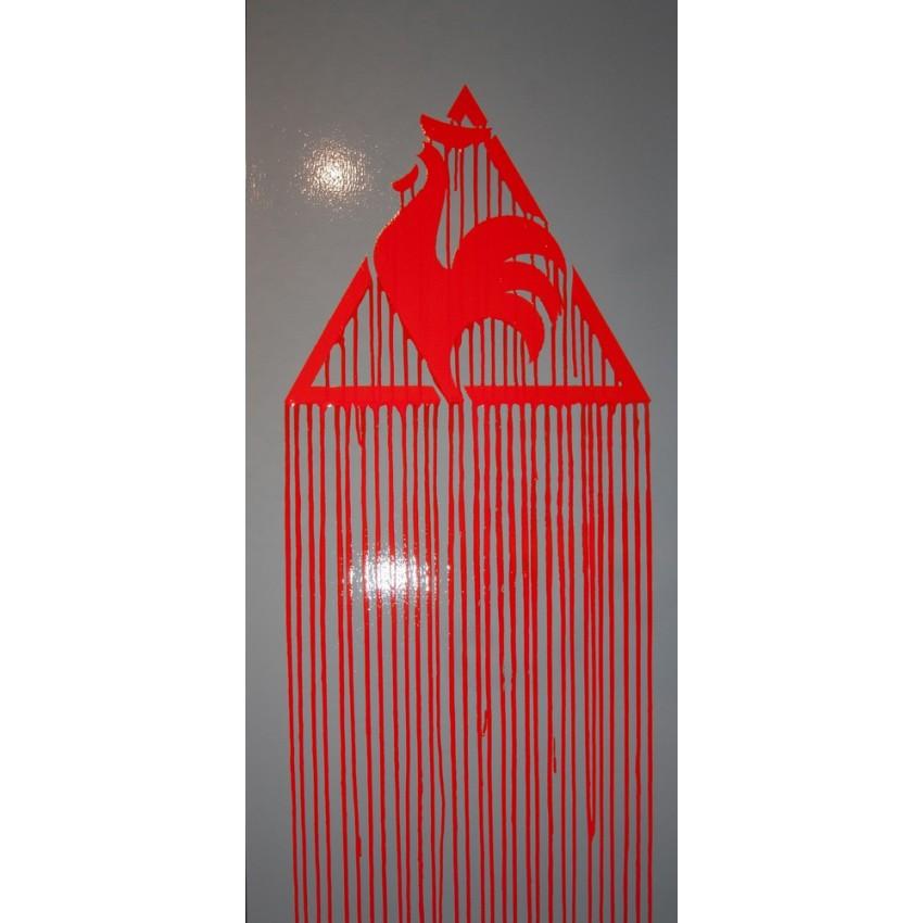 ZEVS - Liquidate logo - Le coq sportif