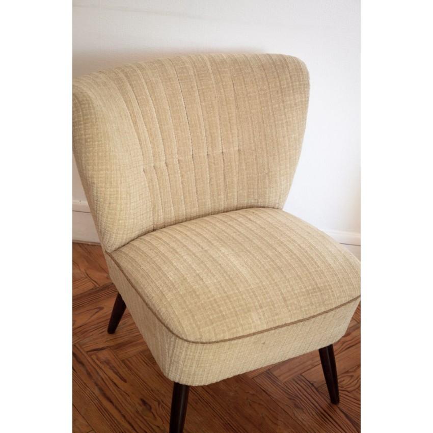 Paire de fauteuils cocktail