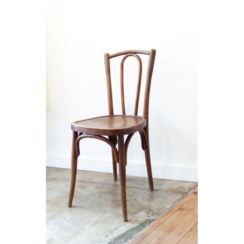 paire de chaises bistrot thonet. Black Bedroom Furniture Sets. Home Design Ideas