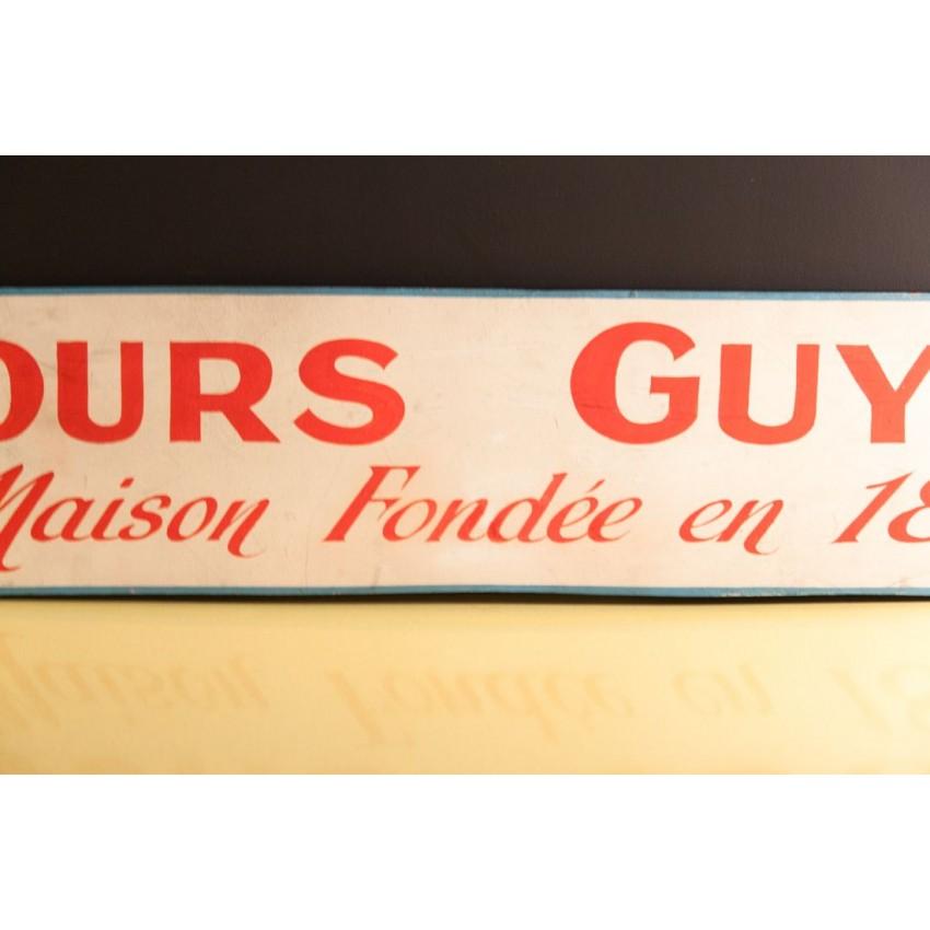 Ancienne publicité Fours Guyon