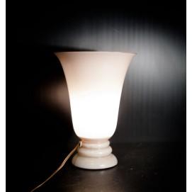 Lampe vasque opaline vintage
