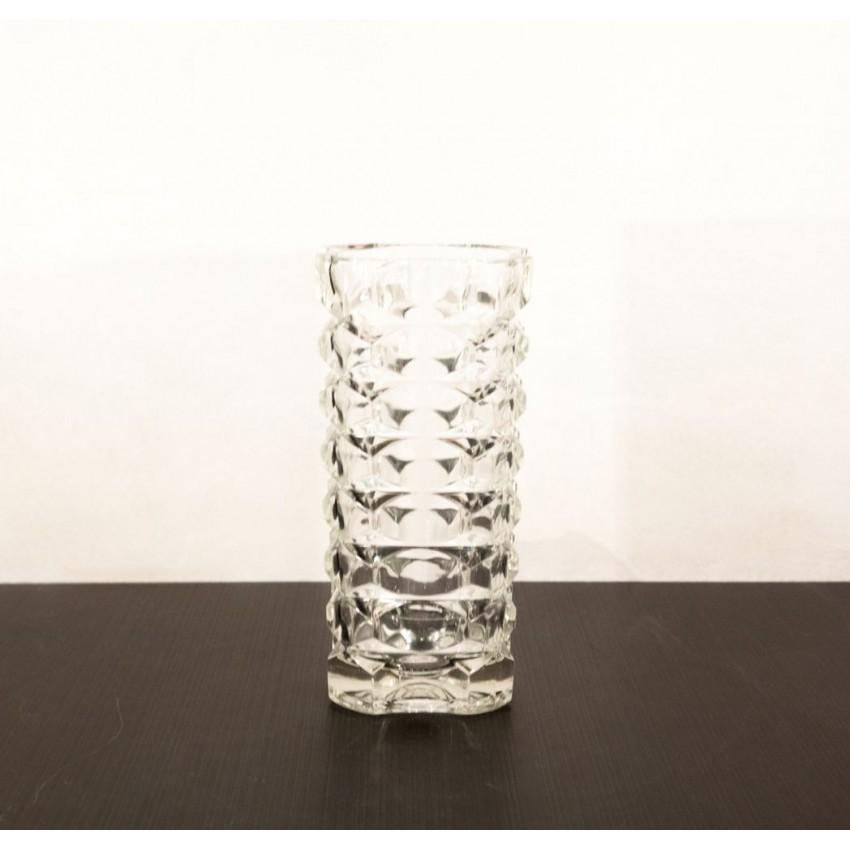 Vase en verre vintage
