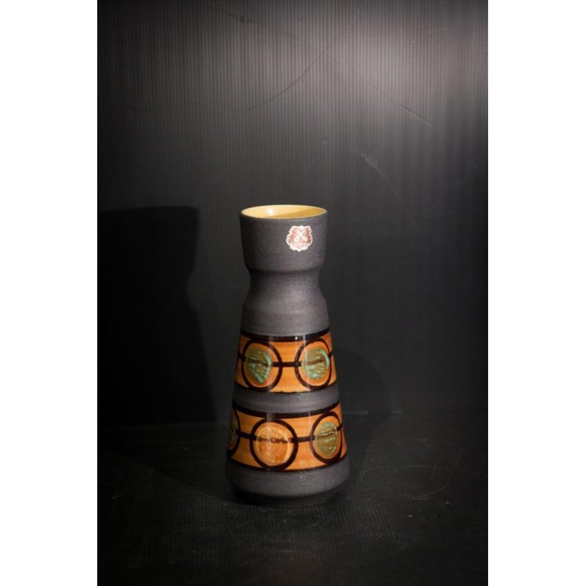 Vase en céramique des années 1950, 1960