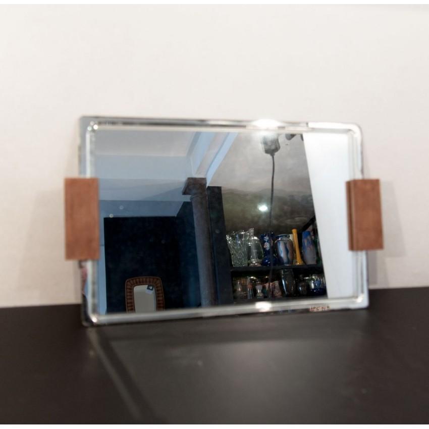 Plateau/miroir art déco