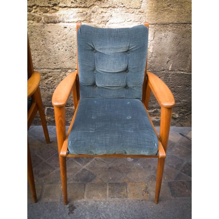 Paire de fauteuils Free-Span
