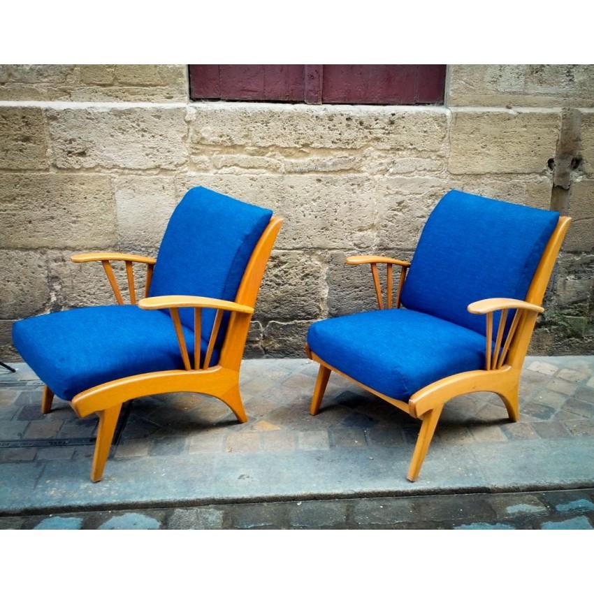 Salon scandinave fauteuils et canap danois - Fauteuils et canapes ...