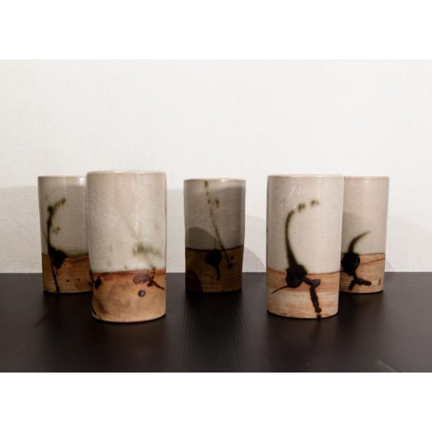 Mazagrans de la poterie de la Colombe