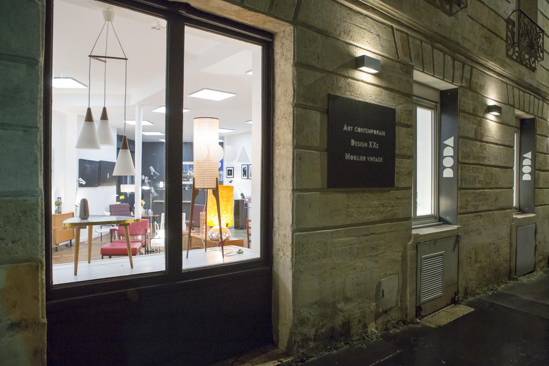 Rue Judaïque à Bordeaux DODA de nuit